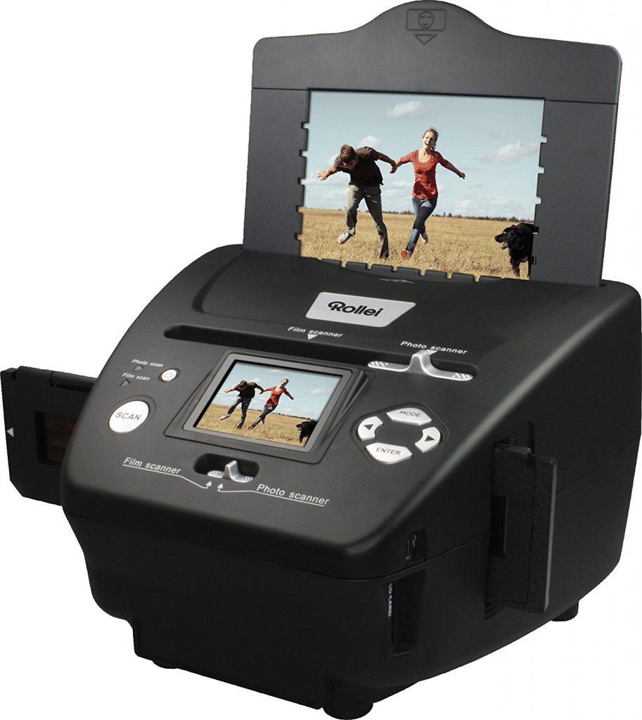 Rollei PDF-S 240 SE - Multiscanner für Fotos, Dias und Negative - einfache Handhabung