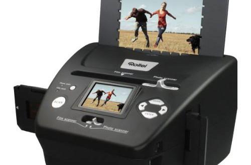 NEGATIVSCANNER MIETEN 1 WOCHE REFLECTA PF 135 Filmscanner für Filmstreifen