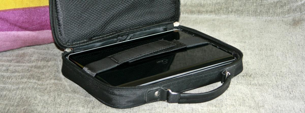 Notebook-Tasche Vergleich