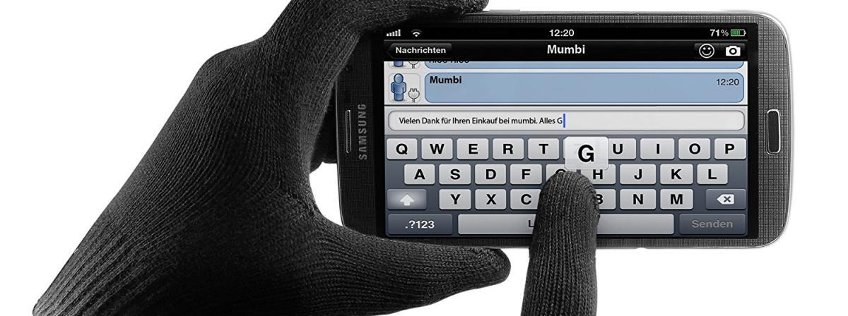 Touchscreen Handschuhe Vergleich