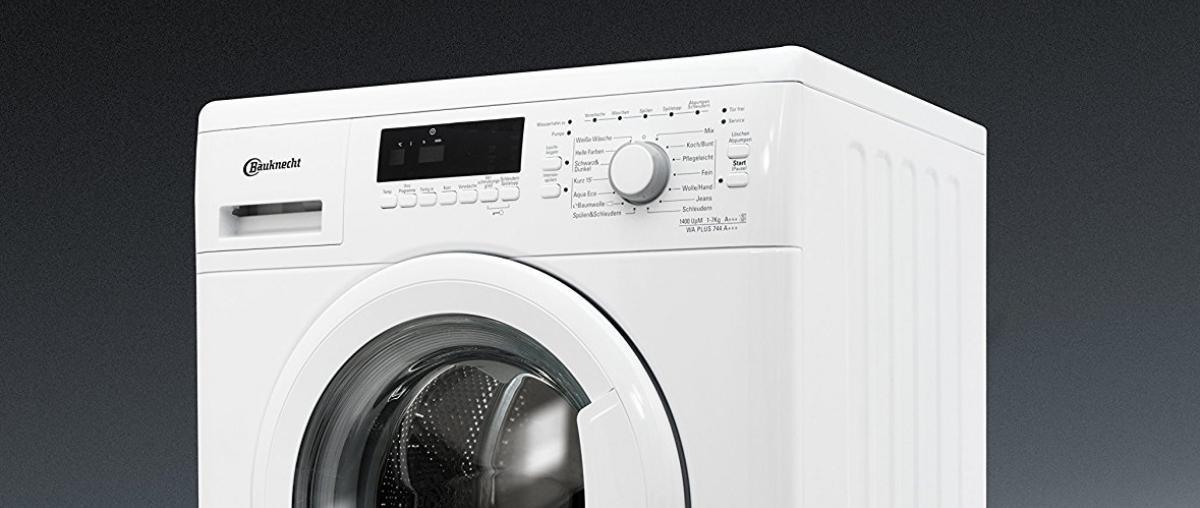 bauknecht waschmaschine test vergleich testberichte 2018. Black Bedroom Furniture Sets. Home Design Ideas