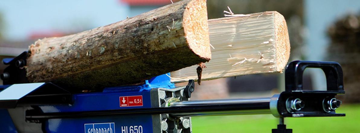 Holzspalter liegend Vergleich