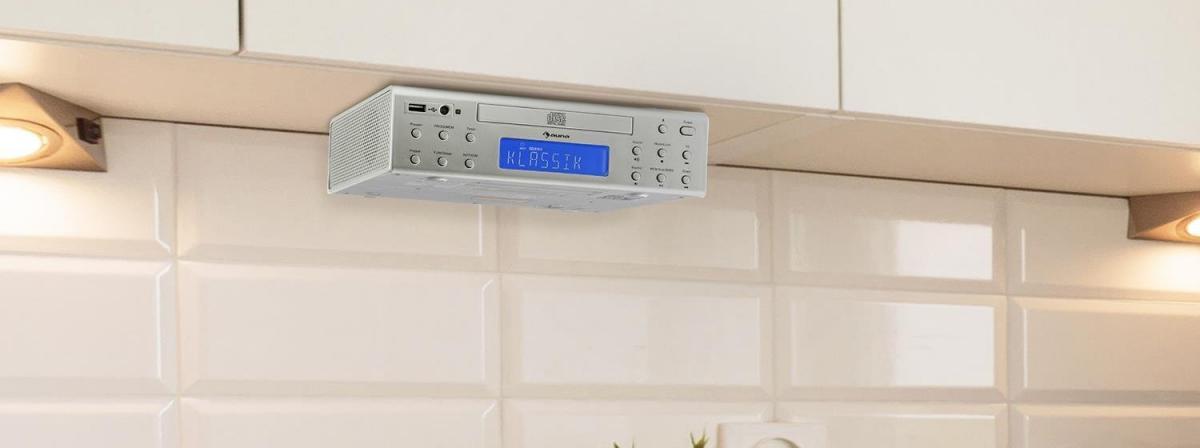 Küchenradio mit CD Ratgeber