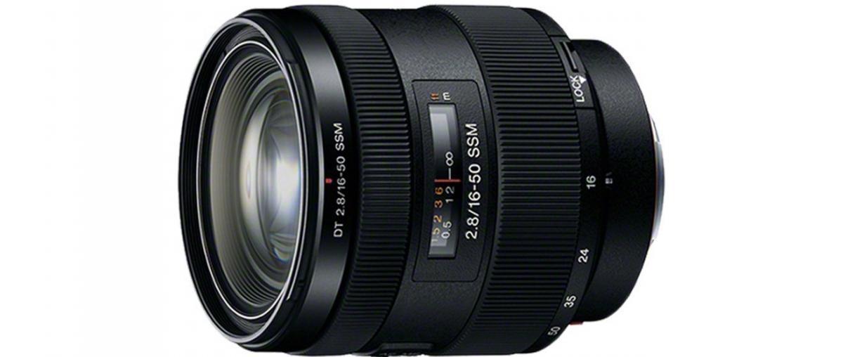 Sony SAL1650 Standard-Zoom-Objektiv