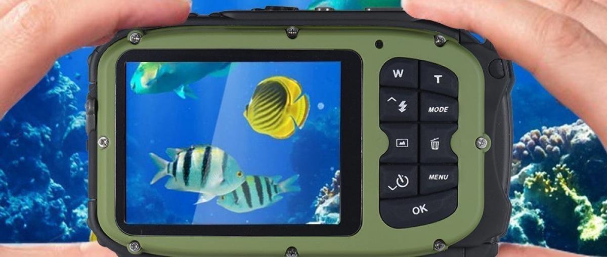 Unterwasser-Camcorder