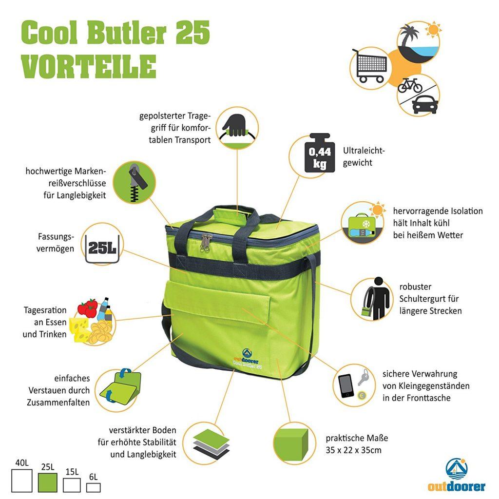 Outdoorer Kühltasche Cool Butler 25