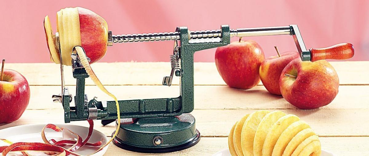Apfelschäler Tipps