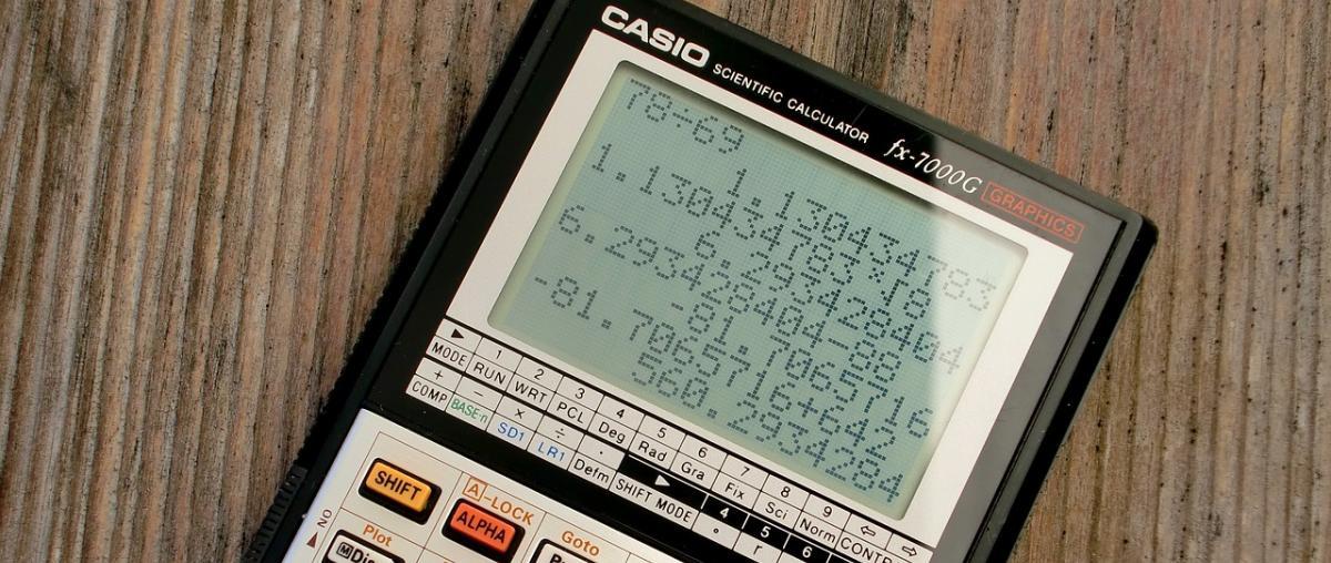 Casio Taschenrechner Vergleich