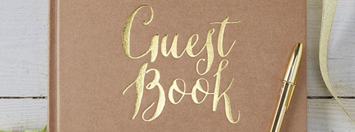 Gästebuch Vergleich