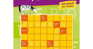 Kinderrätselbuch Bestseller