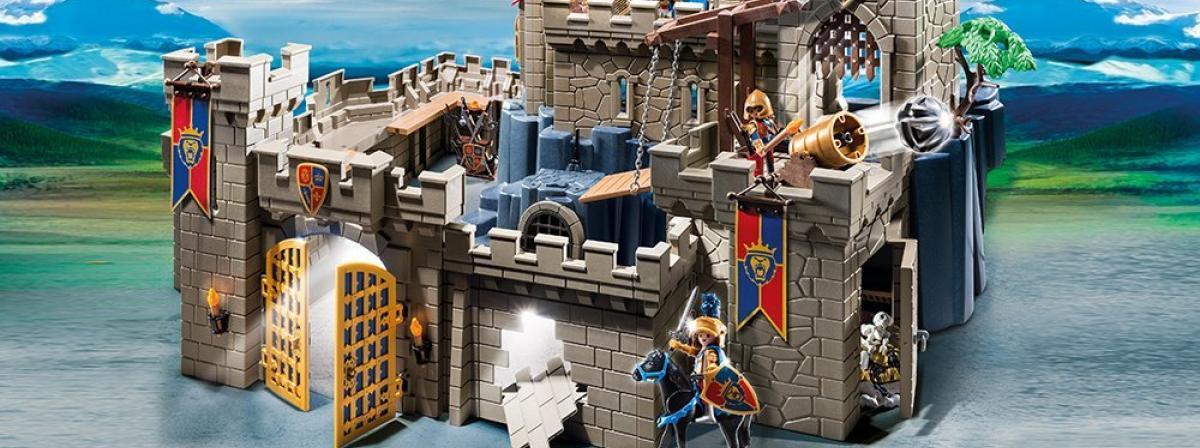 Playmobil Burg Vergleich