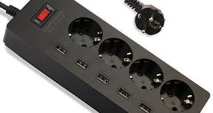 Steckdosenleiste + USB-Anschlüsse Bestseller