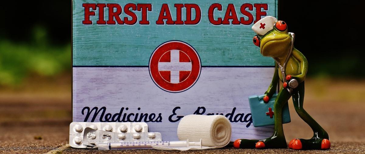 Mini Erste Hilfe Tasche Ratgeber