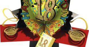 18. Geburtstag Grußkarte Bestseller