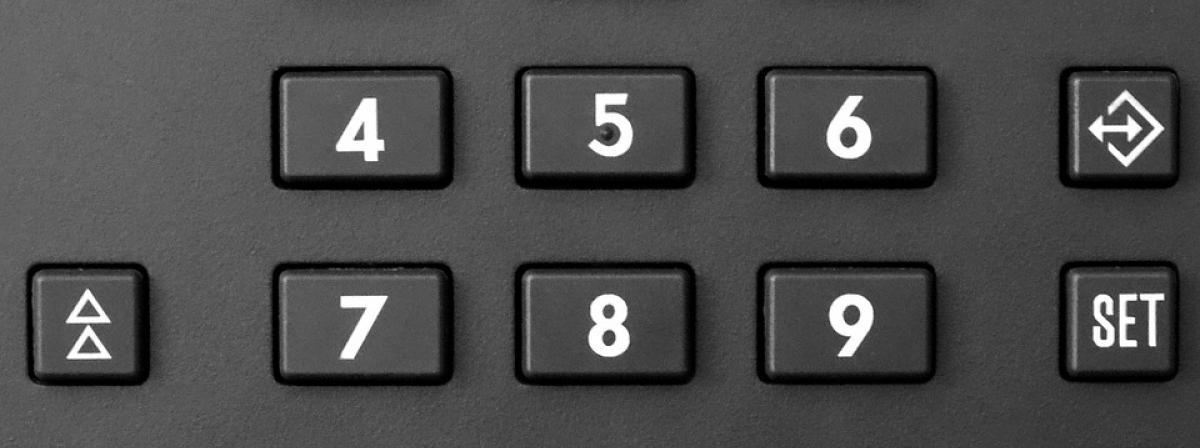 Nummernblock Vergleich