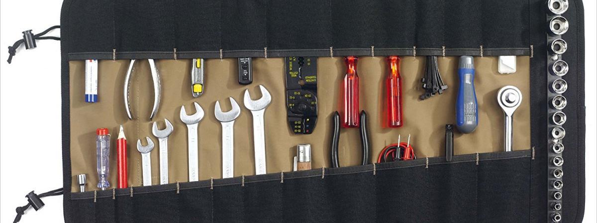 Werkzeugrolltasche Vergleich