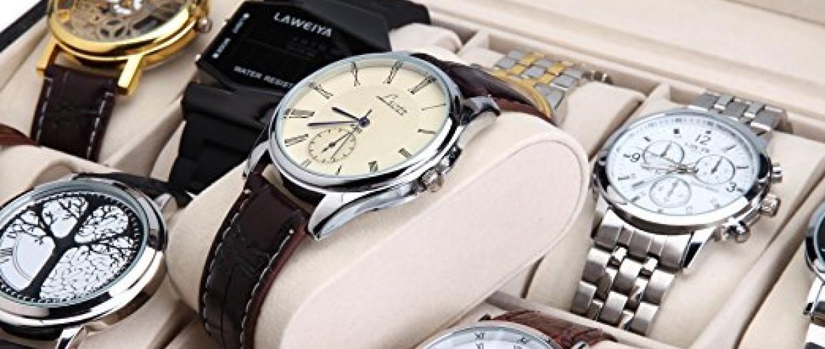 Uhrenaufbewahrung  Vergleich