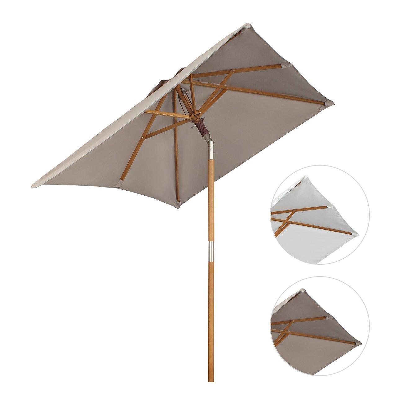 Holz-Sonnenschirm