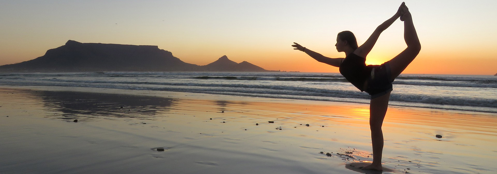 Yoga am Strand!