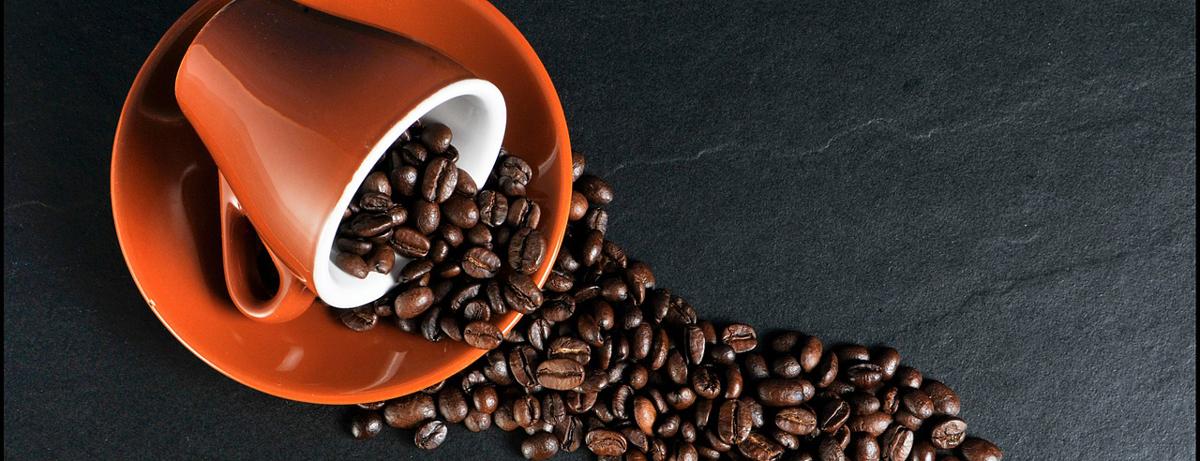 Kaffee mit der elektrischen Kaffeemühle mahlen