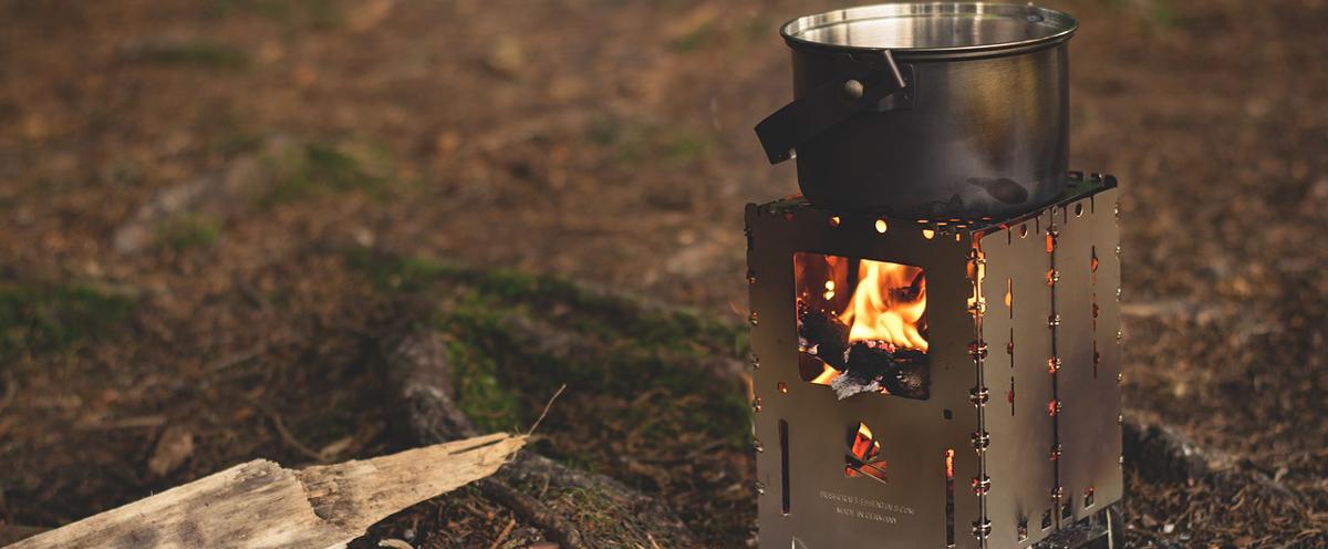 Der Gaskocher ist der ideale Begleiter beim Camping