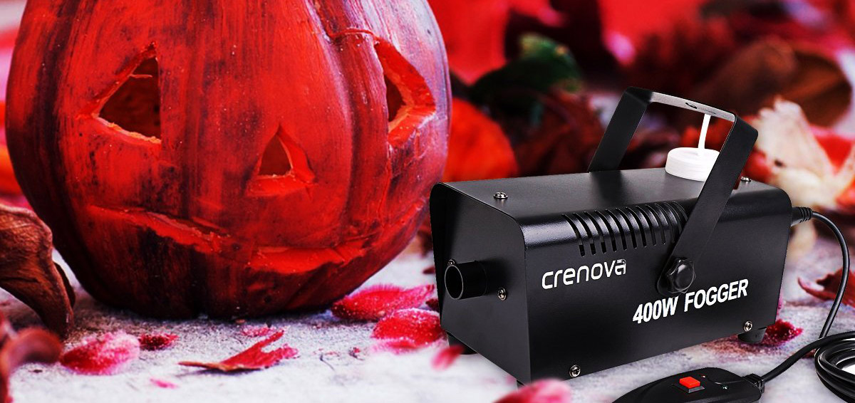 Crenova FM-02 Nebelmaschine 400W + Fernbedienung