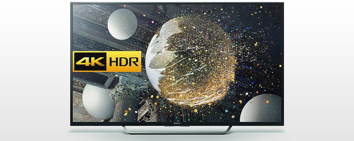 Der Sony TV optimiert jedes Bild bis auf 4K Qualität