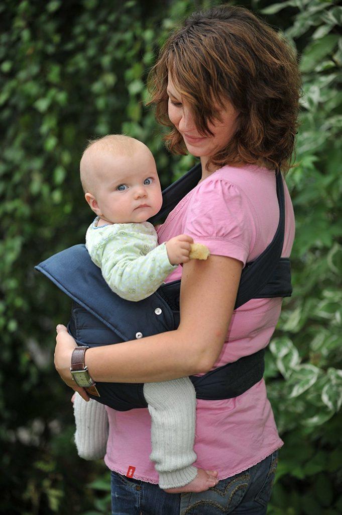 Baby und Kindertrage die kompakte Bauch und Hüfttrage