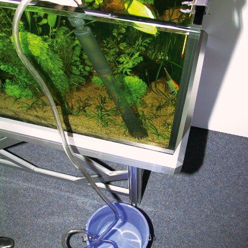 Reinigung von Aquarien