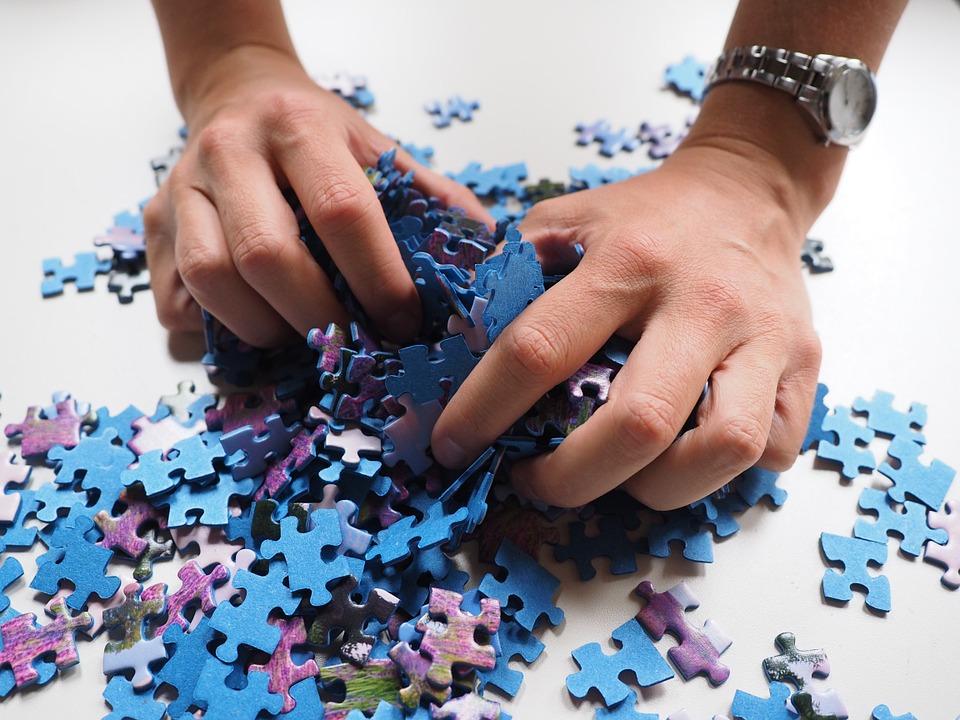 Puzzeln fördert das räumliche Denken