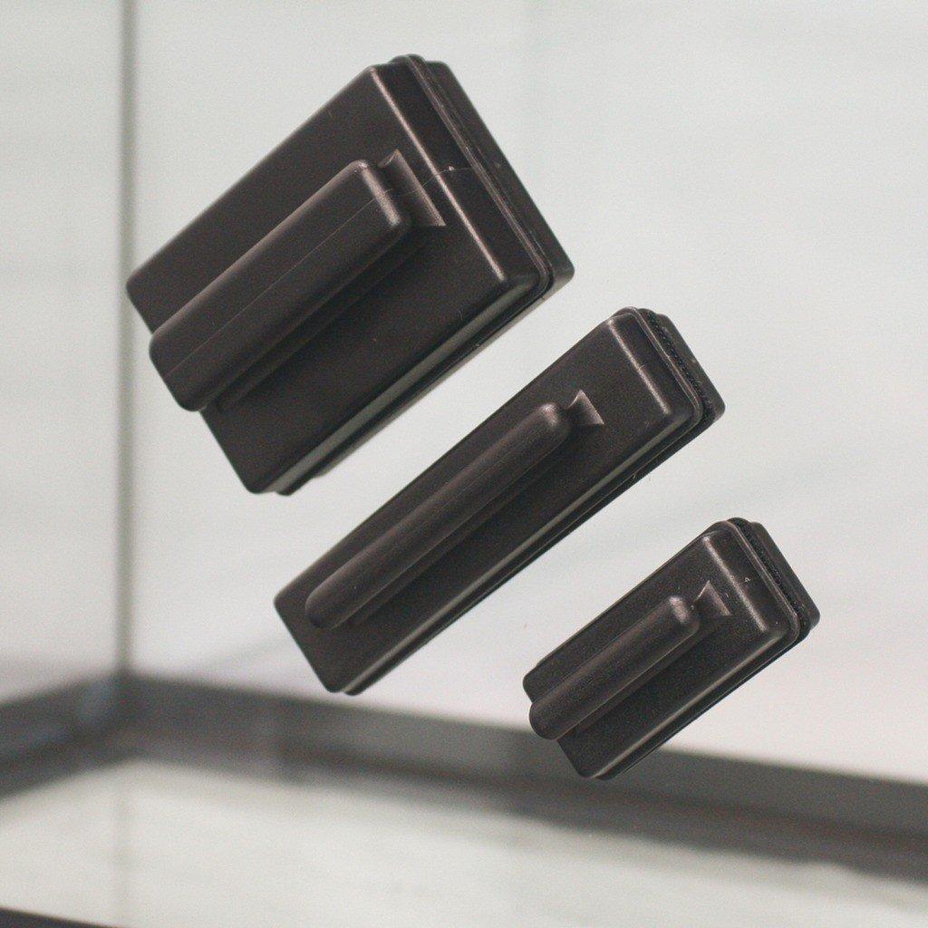 JBL Scheiben-Reinigungsmagnet: Reinigung der Aquarienscheibe ohne nasse Hände: Magnetischer Scheibenreiniger zur Algenentfernung für Scheiben mit 6 mm Stärke.