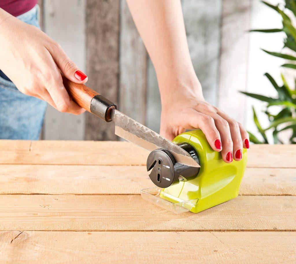 Rosenstein & Söhne: Schärft im Handumdrehen Messer, Scheren und Werkzeuge: präzise und sicher