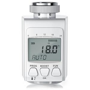 PEARL Heizk/örperregler Heizung Thermostat Programmierbares Energiespar-Heizk/örper-Thermostat mit Boostfunktion