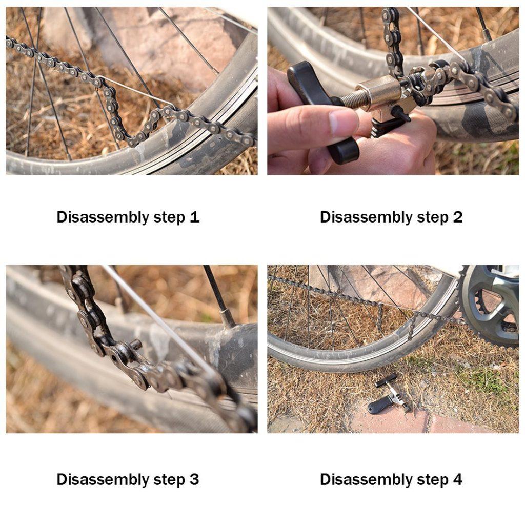 Fahrrad Ketten Werkzeug - Professioneller Kettennieter für alle Fahrradketten