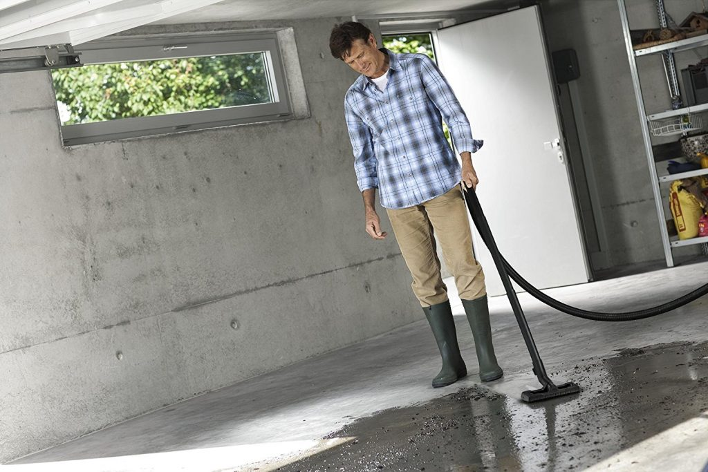 Egal ob trockener oder nasser, feiner oder grober Schmutz: die Kärcher Mehrzwecksauger sorgen stets für eine optimale Schmutzaufnahme