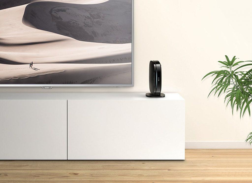 Philips BDP3290B - Form folgt Funktion: Die ultrakompakte Form des Blu-ray Players ist platzsparend und ermöglicht eine vielseitige Positionierung, beispielsweise kann er auf den Tisch gestellt oder an die Wand montiert werden.