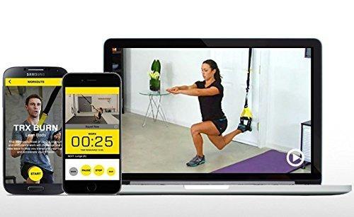 TRX Schlingentrainer - für optimale Trainingsperformance auch bei einarmigen Übungen