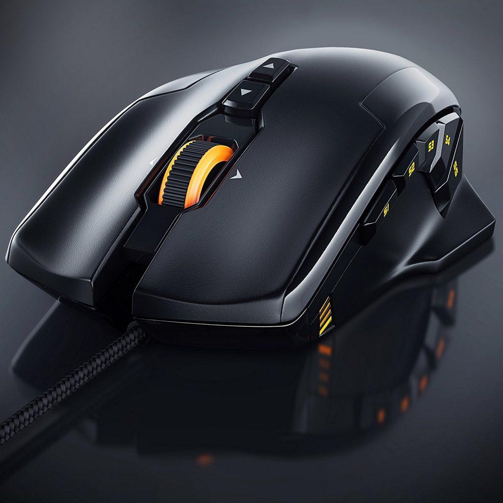 Mit der Titanwolf Specialist Wired Gaming Laser Mouse werden deine Gegner im Spiel alt aussehen!