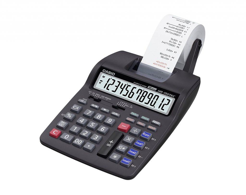 Casio HR-150TEC druckender Tischrechner