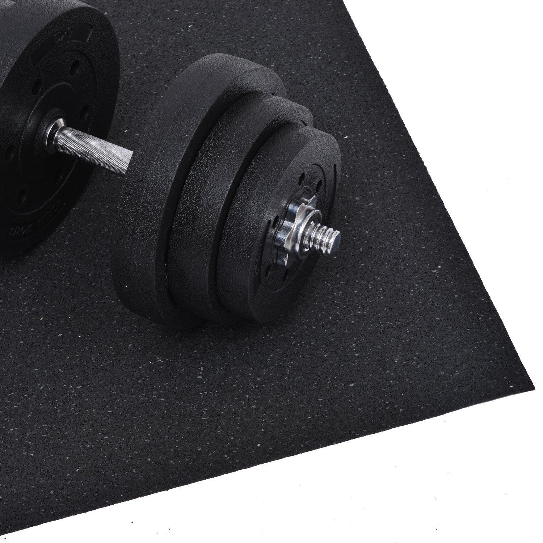 Homcom Bodenschutz/Unterleg-matte für Fitnessgeräte