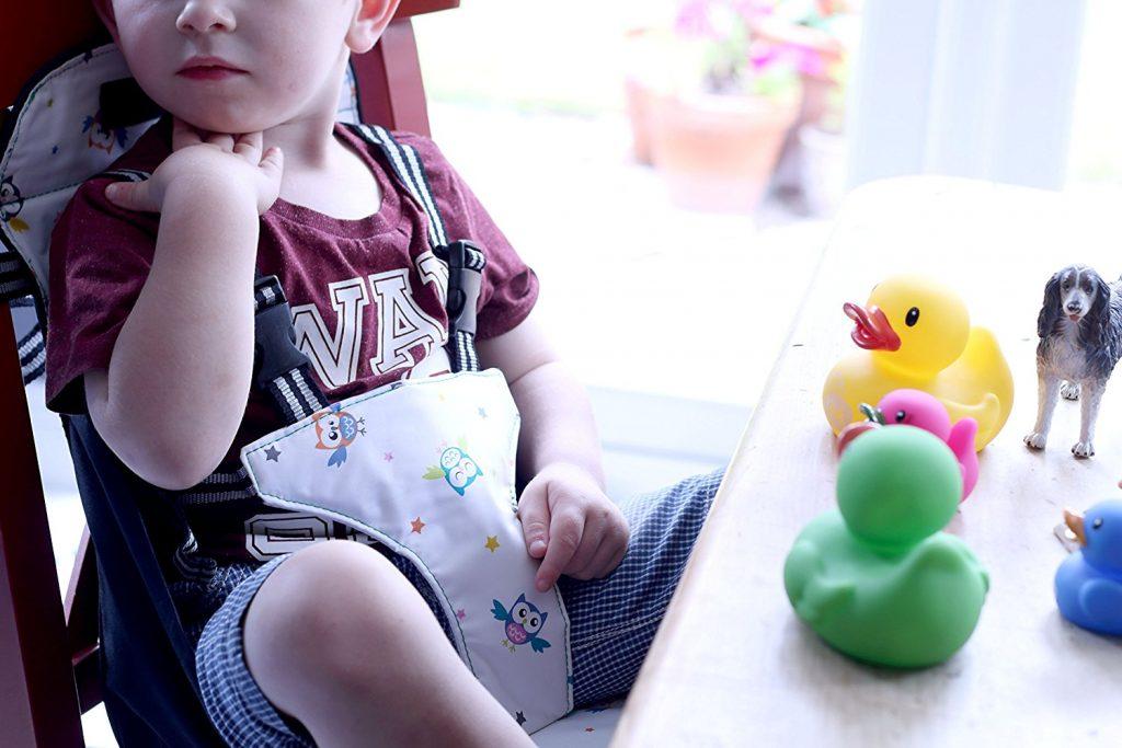 Venture Boostersitz -  Reisetasche verwandelt sich schnell in einen Kindersitz