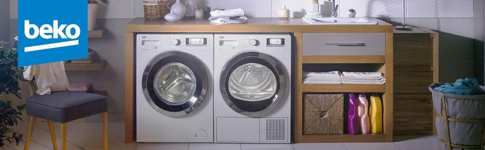 Ein Trockner von Beko sorgt im Handumdrehen für faltenfreie, weiche Wäsche, die nicht mehr aufgehängt werden muss