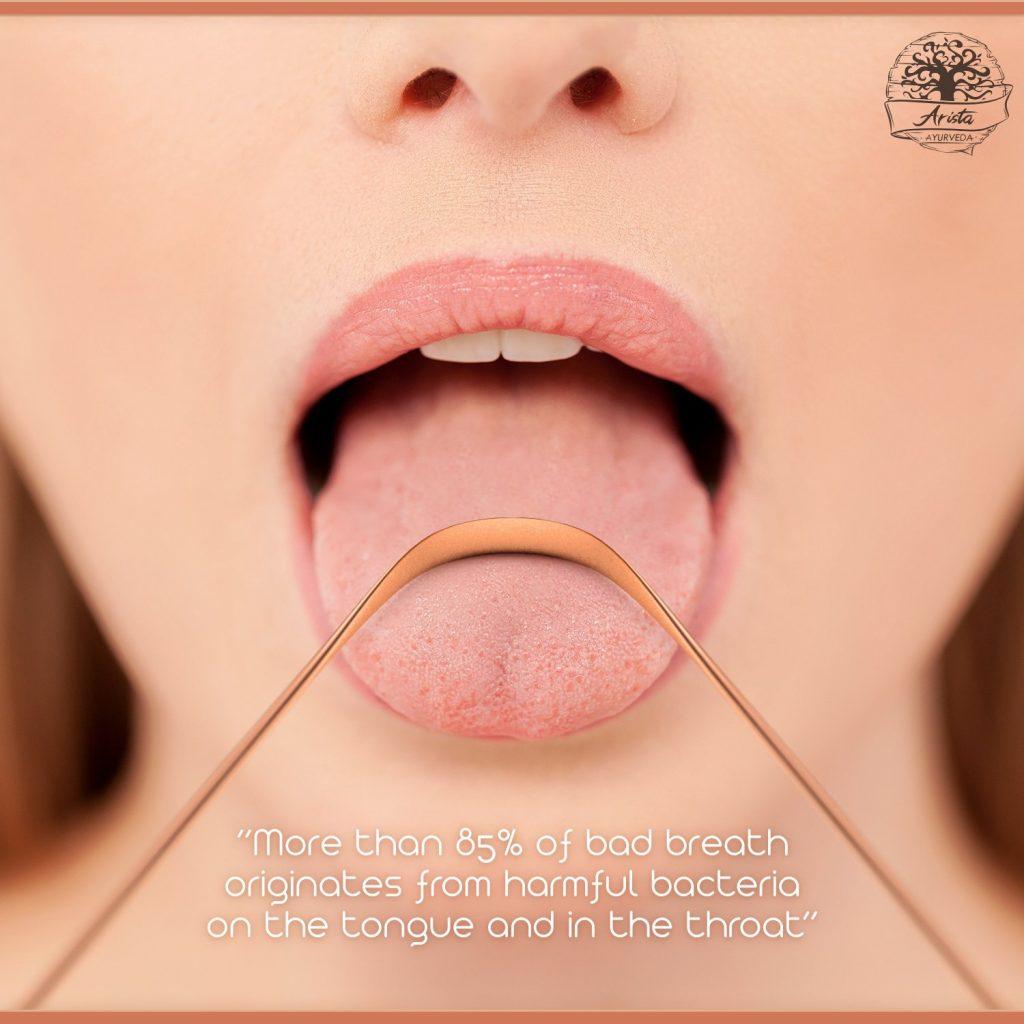 Kupfernen Zungenreinigern - Heutzutage konzentrieren wir uns bei unserer Mundhygiene darauf, unsere Zähne sauber zu halten. Unsere Zunge ist jedoch eines der Körperorgane, das unter anderem für die Entgiftung des Körpers zuständig ist. Sie sauber zu halten ist ebenso wichtig wie sich die Zähne zu putzen.