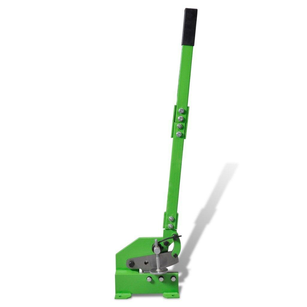 Diese vidaXL Handhebelschere mit einer Messerlänge von 200mm ist ideal zum Schneiden von Blechen und Profilen.