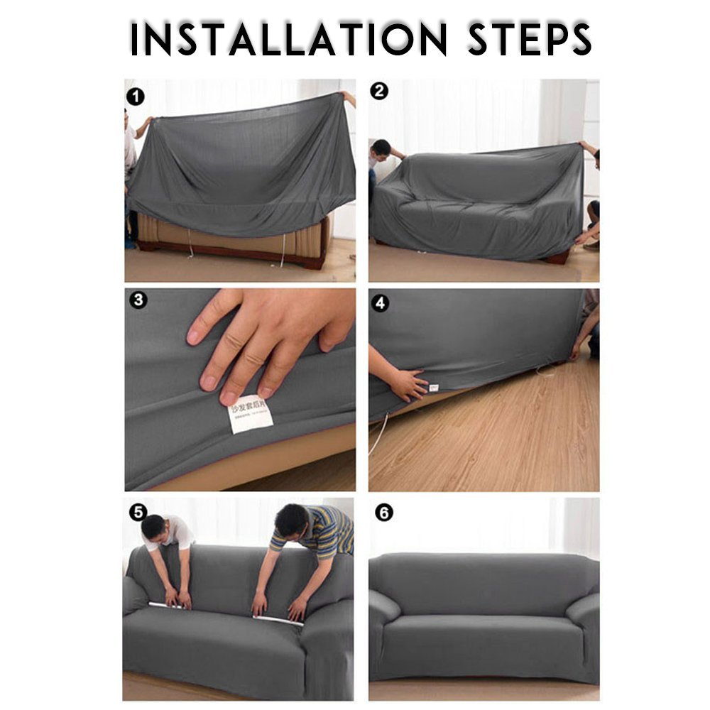 Bielastischer Sofabezug