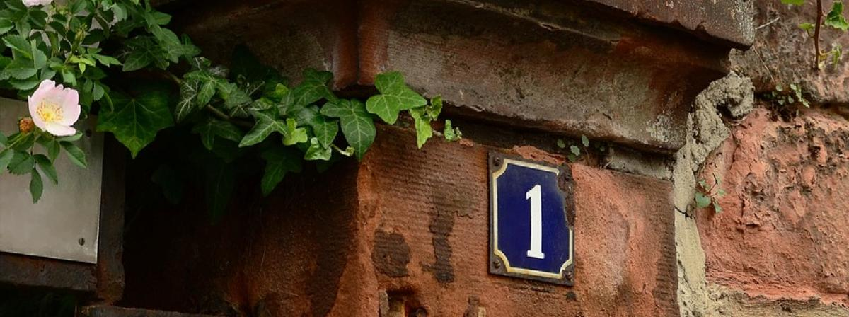 Hausnummer Schiefer Ratgeber